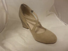 NEXT Forever comfort Beige Mary Jane Shoes UK6 EU39 JS08 02