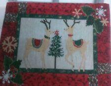 Decoración y menaje para mesas de Navidad mantel