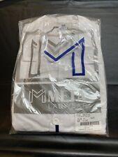 Meta Labwear Men's 5-Pocket Twill Lab Coat White - 1963-011 Multiple Sizes