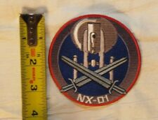 Star Trek Enterprise NX-01 - embroidered patch - iron or sew on- NEW - US Seller