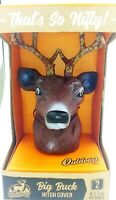 """Nifty Outdoors Big Buck Truck Trailer Hitch Cover Whitetail Deer 1 7/8-2"""" Ball"""