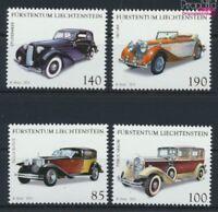 Liechtenstein 1726-1729 (kompl.Ausg.) postfrisch 2014 Autos (9077533