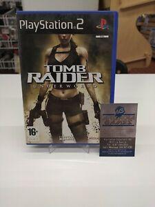 PS2 Playstation 2 Tomba Raider Underworld PAL