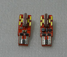 2 x BOMBILLAS LED T10 W5W 24 SMD BLANCO T15 W16W CANBUS MATRICULA MARCHA ATRAS