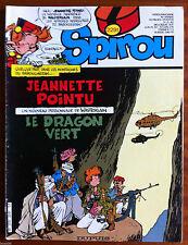 c) SPIROU n°2291;  Avec le poster/ Annie Fratellini/ Popeye
