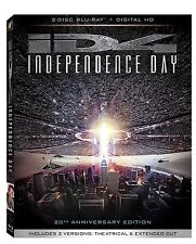 INDEPENDENCE DAY (ID4) 20th Anniversary Edition - BLU RAY - Region free