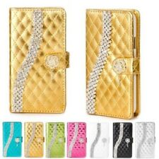 Strass Phone Case Protective Sleeve Flip Cover Style Case Bling Design K919