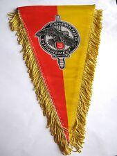 FANION BI FACE COMMANDO N°3  CEC 11° RIMa  ETAT EXCELLENT HAUTEUR 26 CM