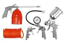 NEW 5 pc Air Tool Kit spray gun blow undercoating hose
