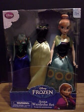 Disney Frozen Anna Wardrobe Set - New, NRFB