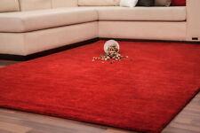 Einfarbige moderne Wohnraum-Teppiche aus 100% Wolle