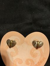 Brand New Brighton Gold And Silver Earrings, Orig $32