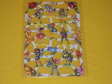 1x Poesiebilder Oblaten Blumenelfen 215 Glanzbilder Nostalgie Fairy Blumen Elfen