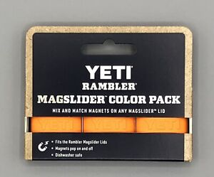 YETI MAGSLIDER Magnet 3 pack ** Orange **