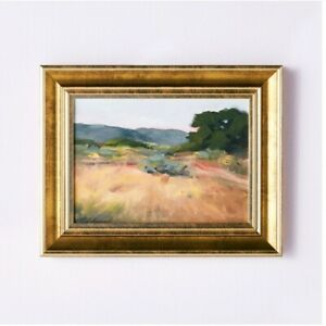 NEW Studio McGee Threshold 11x14 Framed Landscape Wall Canvas Painting Target