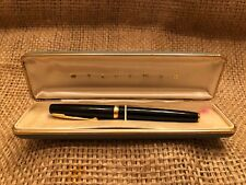 Vintage WATERMAN'S 88 Jifmatic Finger Tip Pen 14k 14cts Nib Black Gold Repair