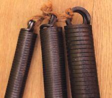 Joblot pipe bender springs Vintage Black leaded 3 different sizes Plumber prop