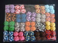 New Silk Knot Cufflinks Cuff Links 20 Pairs C1