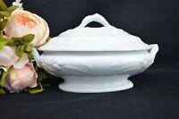 White Ironstone Edward Pearson Cobridge Tureen Casserole Dish. Dinner Serveware