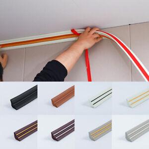 Wall Self-Adhesive 3D Sticker Waterproof Skirting Wallpaper Border Home Decor*1