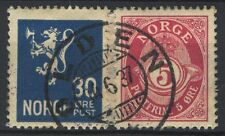 Norway 1937, Cutpiece NK 118, 148 Son Olden 14.6.1937, Nordfj. S&F