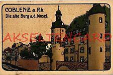 Zwischenkriegszeit (1918-39) Ansichtskarten mit Burg & Schloss für Architektur/Bauwerk