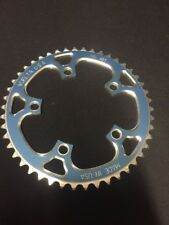 Nos Blue Vuelta 110 Bcd Alloy Cnc 1/8th Bmx Chainring Gt Redline Mongoose Fixed