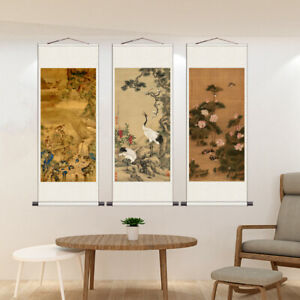 Chinese Ink Painting Wall Scrolls Calligraphy Hand Painted Hanging Artwork