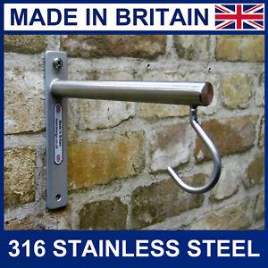 316 Marine grade Stainless steel bird feeder lantern macramé hanging bracket