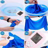 Blue Ice Towel Sports Exercise Sweat Summer Gym PVA Hypothermia Cooling Towel