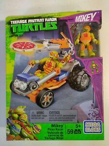 MEGA BLOKS - Teenage Mutant Ninja Turtles MICHAELANGELO Pizza Racer