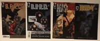 Lot of 5 Mike Mignola comics: Hellboy The Wild Hunt, BPRD, etc. Lots of pics!