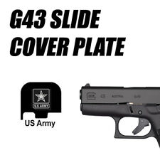 Replacement Slide Cover Plate for Glock G43 - UNITED  STATES ARMY U.S.