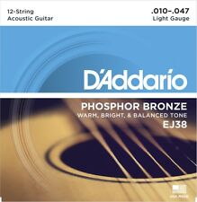 Stagg AC-12ST-BR Bronze Saitensatz für 12-saitige Akustikgitarre
