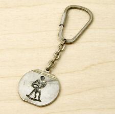 Vintage Aquarius Zodiac Keychain Keyring