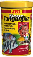 JBL Novo Tanganjika 1L Flockenfutter Cichliden Fischfutter Barsche Malawisee