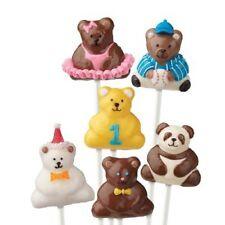 Wilton 3D Mini Bear Cake Pops Baking Pan Mold 2105-0545 NEW