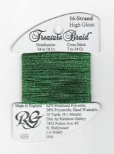 Rainbow Gallery Treasure Braid 16 High Gloss HG69 Green