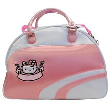 NEW Hello Kitty Diva Boston Bag  -  Pink/White   Special Bargain Sale!