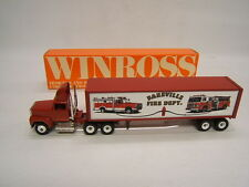 Winross Bareville Fire Dept. Station 3-1 Lancaster County PA Tanker and Van 1992