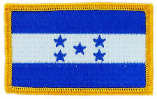 FLAG PATCH PATCHES HONDURAS IRON ON COUNTRY EMBROIDERED WORLD SMALL
