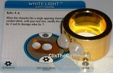 WHITE LIGHT S003 The Invincible Iron Man Marvel Heroclix special object/relic