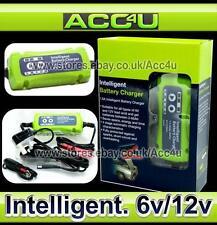 6v 12v 1.5A Car Bike Motorcycle Smart Intelligent Lead Acid Gel Battery Charger