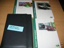 2002 LAND ROVER DISCOVERY II OWNERS MANUAL NEW IN PLAST
