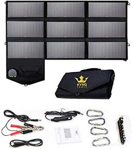 ☀️ Kyng Chargeur Solaire SunPower Mobile Panneau USB Ports Pour IPHONE Tablette