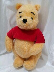 Disney Winnie The Pooh Holiday Pooh 2002 Plush Doll
