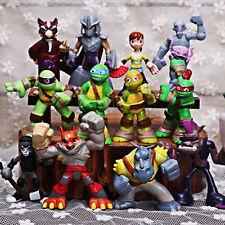 12pcs Half-Shell Heroes Teenage Mutant Ninja Turtles TMNT Movie Figures Boy Toys