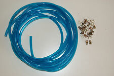 "Sea Doo Jet Ski 1/4"" 20 foot Clear Blue Fuel Line 1/4 seadoo yamaha kawasaki 30c"