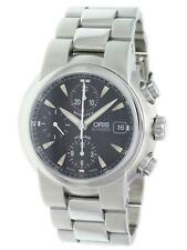 Oris TT1 Automatic Chrono 42.5mm Black Dial Date Mens Watch 67475204164MB82401P