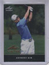 2011 Leaf Golf Metal Limited Black #MAK1 Anthony Kim